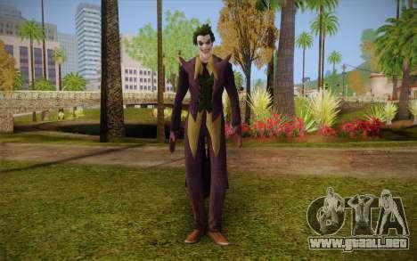 Joker from Injustice para GTA San Andreas