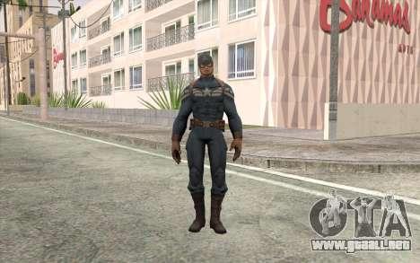 Captain America para GTA San Andreas