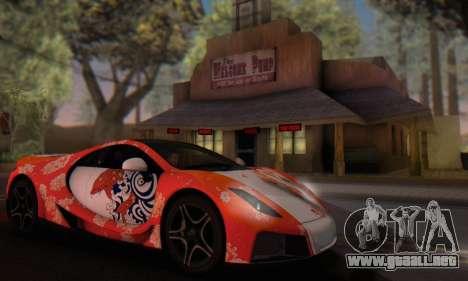 GTA Spano 2014 HQLM para vista lateral GTA San Andreas
