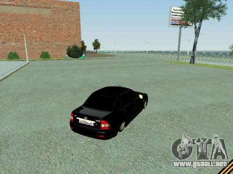 VAZ 2170 para la visión correcta GTA San Andreas