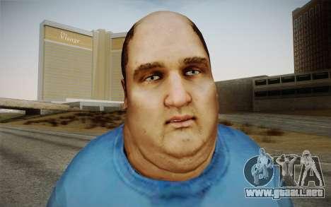 Dicker Ehegatte para GTA San Andreas tercera pantalla