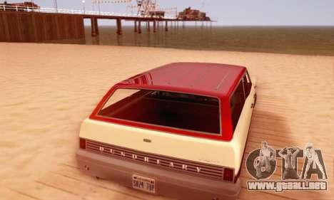Dundreary Regina V1.0 para el motor de GTA San Andreas