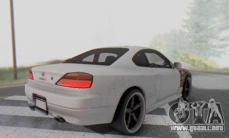 Nissan Silvia S15 Metal Style para vista lateral GTA San Andreas