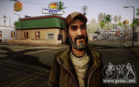 Kenny из The Walking Dead para GTA San Andreas tercera pantalla