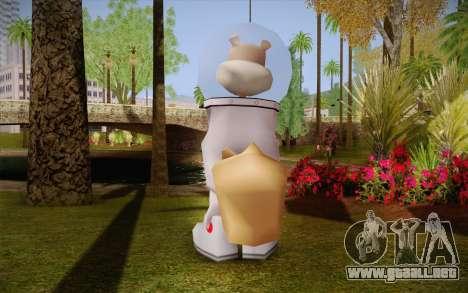 Sandy Cheeks para GTA San Andreas segunda pantalla