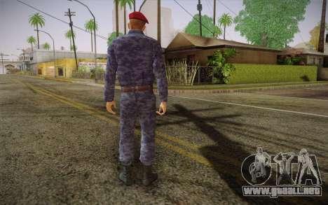 Berkut para GTA San Andreas segunda pantalla
