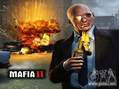 La pantalla de arranque de Mafia II para GTA San Andreas segunda pantalla