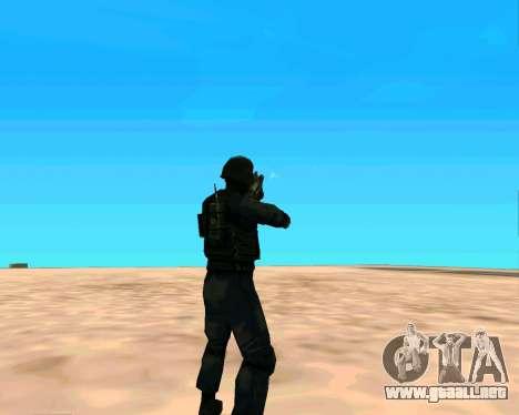 Jackhammer de Max Payne para GTA San Andreas sexta pantalla