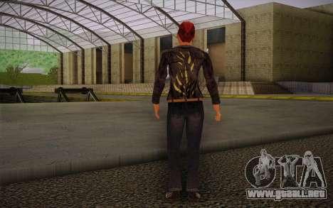 Woman Autoracer from FlatOut v3 para GTA San Andreas segunda pantalla