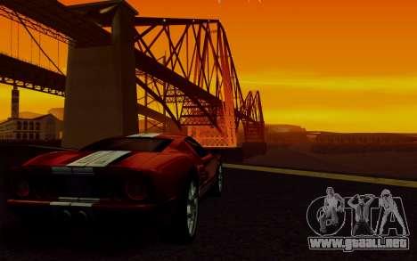 ENBSeries para PC débil v2 [SA:MP] para GTA San Andreas