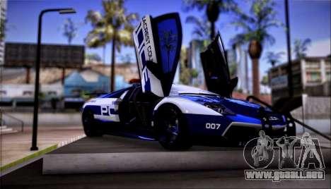Lamborghini Críticos LP670-4 SuperVeloce, 2010 para GTA San Andreas left