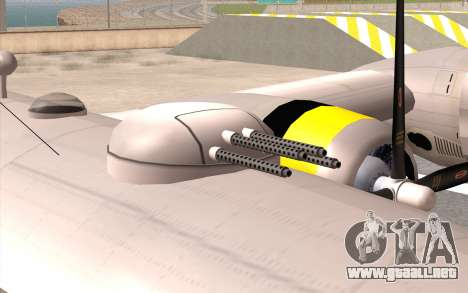 B-29A Superfortress para visión interna GTA San Andreas