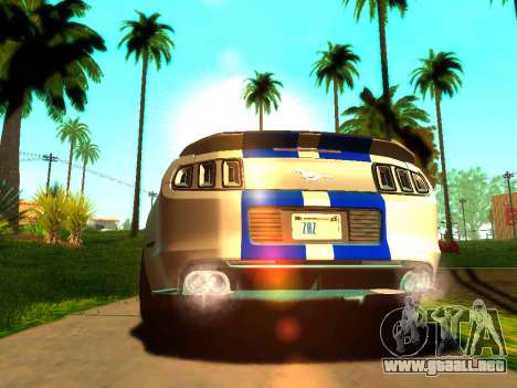 ENBSeries Realistic Beta v1.0 para GTA San Andreas segunda pantalla