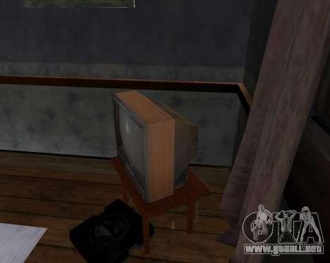 Televisión en color alfa-TC- para GTA San Andreas segunda pantalla