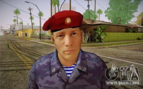 Berkut para GTA San Andreas tercera pantalla