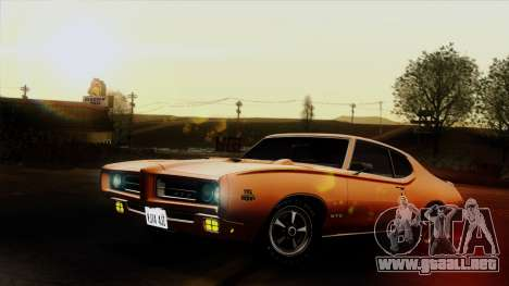 Pontiac GTO The Judge Hardtop Coupe 1969 para GTA San Andreas