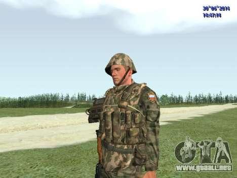 El combatiente del ejército ruso para GTA San Andreas tercera pantalla