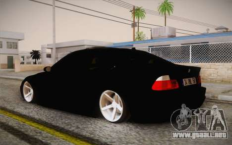 BMW 318 Ci 34 UNL 58 para GTA San Andreas left