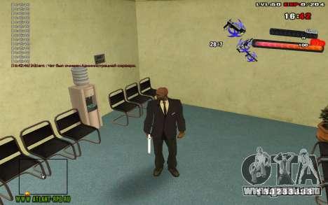 C-HUD by thereobull para GTA San Andreas tercera pantalla