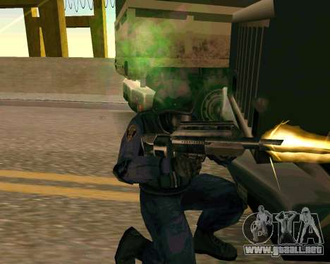 Jackhammer de Max Payne para GTA San Andreas séptima pantalla