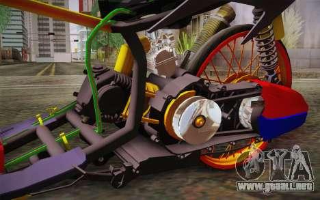 Honda Click 125i para la visión correcta GTA San Andreas