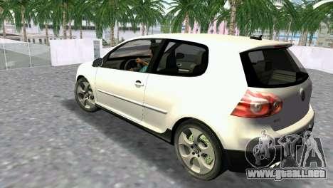Volkswagen Golf V GTI para GTA Vice City left
