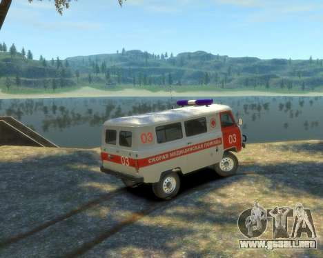 UAZ 39629 Ambulancia para GTA 4 left