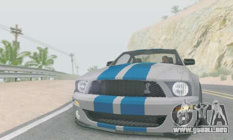 Ford Mustang GT para GTA San Andreas left