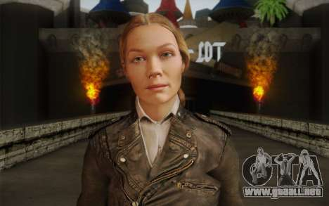 Alice Wake para GTA San Andreas tercera pantalla