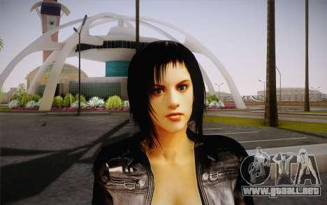 Jill Biker para GTA San Andreas tercera pantalla