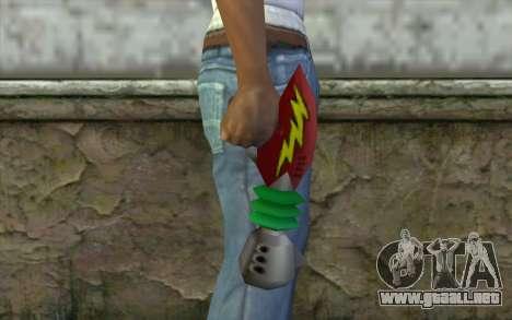 Cortexs Ray Gun para GTA San Andreas tercera pantalla