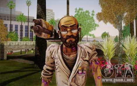 El profesor Nakayama, 2 из Borderlands para GTA San Andreas tercera pantalla