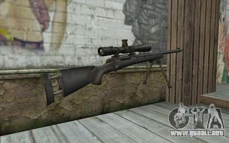M-24 para GTA San Andreas segunda pantalla