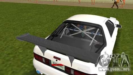 Mazda Savanna RX-7 III (FC3S) para GTA Vice City vista posterior
