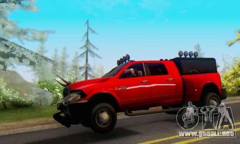 Dodge Ram 3500 Super Reforzada para GTA San Andreas left