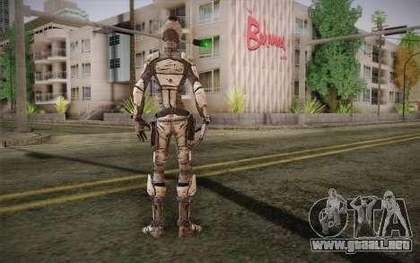 Cero из Borderlands 2 para GTA San Andreas segunda pantalla