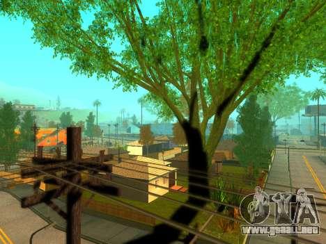 ENBSeries Realistic Beta v1.0 para GTA San Andreas sucesivamente de pantalla
