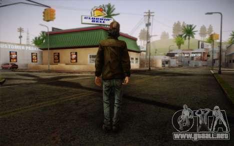 Kenny из The Walking Dead para GTA San Andreas segunda pantalla