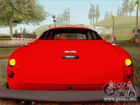 Aston Martin DB4 Zagato 1960 para visión interna GTA San Andreas