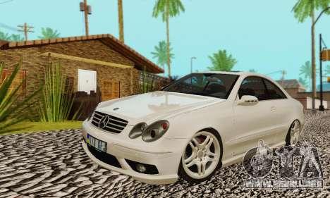 Mercedes-Benz CLK55 AMG 2003 para GTA San Andreas interior