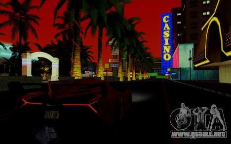 ENBSeries para PC débil v2 [SA:MP] para GTA San Andreas quinta pantalla