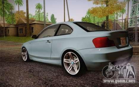 BMW 135i Limited Edition para GTA San Andreas left