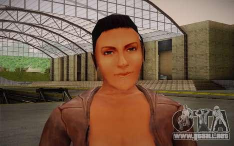 Woman Autoracer from FlatOut v4 para GTA San Andreas tercera pantalla