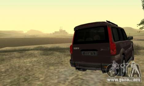 Mahindra Scorpio para la vista superior GTA San Andreas
