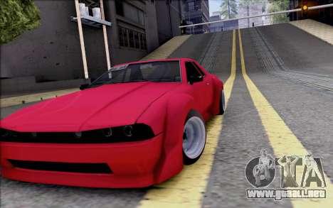 Elegy Rocket Bunny para visión interna GTA San Andreas