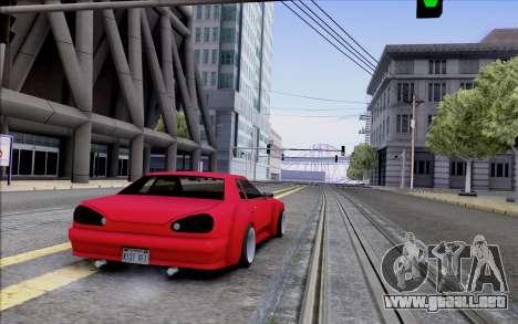 Elegy Rocket Bunny para la visión correcta GTA San Andreas