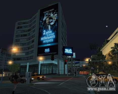 Oficina de TELE2 para GTA San Andreas