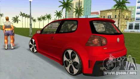 Volkswagen Golf GTI W12 para GTA Vice City left
