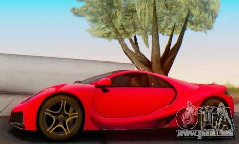 GTA Spano 2014 HQLM para visión interna GTA San Andreas