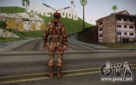 U.S. Soldier v2 para GTA San Andreas segunda pantalla